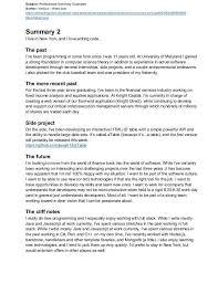 How To Write A Professional Summary For A Resume by Exle Of A Professional Summary For A Resume