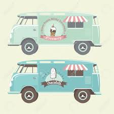 Vector Ice Cream Truck. Royalty Free Cliparts, Vectors, And Stock ...