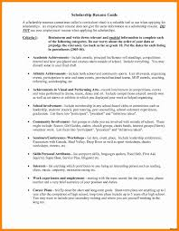Resume Companion Scholarship Entertaining Templates For Scholarships Example