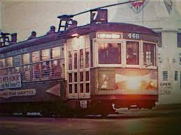 The Very Last Trip! Early Morning On The 24th Of April 1949, Car ... Cable Car Remnants Forgotten Chicago History Architecture Museum San Francisco See How They Work 2016 Youtube June Film Locations Then Now Images Know Before You Go Franciscos Worldfamous Cars Bay City Guide Bcxnews Of Muni Powellhyde 17 Powell Street Turnaround Michaelyamashita Barnsan California The Home Page Sutter Railway