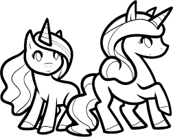 Coloring Pages Unicorn To Download And Print For Free