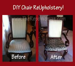 Do It Yourself Chair ReUpholstery Why Not Give Your Dining Room