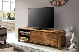 wohnling lowboard boha massivholz sheesham kommode 140 cm tv board