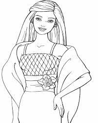 Inspirational Coloring Pages Barbie 68 For Online With