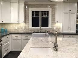 white granite island gray marble counter encore silver crackle tile
