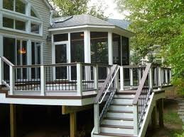 Patio And Deck Combo Ideas by Deck Color Combinations We Used Trex Decking With Trex Railing