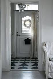 Front Door Side Window Curtain Rods by Front Doors Front Door Design Sun Zero Grant 26 X 72 Energy