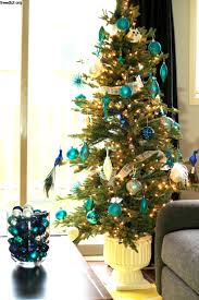 Arctic Teal Christmas Decoration Ideas Frugal Mom Eh Tree