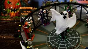 Lemax Halloween Village Displays by Michaels Halloween Lemax Spooky Town 2017 Youtube
