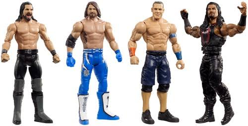 Mattel MTTGFT58 WWE - Core Figure Top Talents - 8 Piece