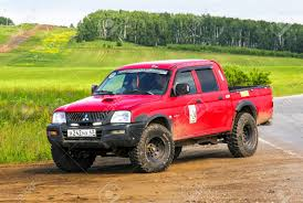 CHELYABINSK REGION, RUSSIA - JULY 10, 2017: Pickup Truck ... Test Drive Mitsubishi L200 Single Cab Pickup The Business Offers Malaysias First With A Sunroof Cfao Rolls Out Wgeneration Mitsubishi Pickup Raider Wikipedia Is Reentering The Usas Pickup Truck Battlefront Cumbuco Car Rental Nissan To Share Pickup Platform Exec Mitsubishi Akan Buat Baru Di Amerika Gets Freaky With Grhev Concept 2016 Truck Arrives In Geneva 5 Soulsteer Trojan Review Driving Torque