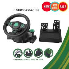 100 Truck Driving Games For Xbox 360 Gaming Vibration Racing Steering Wheel 22cm And Pedals For XBOX