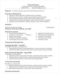 Mechanic Resume Examples Sample Pharmacy Technician Example 9 Free Word Documents Samples For Freshers Lab Assistant
