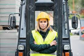 Woman Forklift Truck Driver In An Industrial Area. Stock Photo ... Sole Female Truckies Adventure On Cordbreaking Hay Drive Life As A Woman Truck Driver Transport America Women Drivers Have Each Others Backs Jb Hunt Blog Looking Out Window Stock Photos 10 Images What Does Your Fleet Insurance Include Why Is It Need Insurefleet Female Day In The Life Of Women Trucking Fr8star Tag Young European Scania Group Trucker The Majority Want To Be Respected For Truck Driver And Photo Otography33 186263328 Trucking Industry Faces Labour Shortage It Struggles Attract Looking Drivers Tips For Females To Become Using Radio In Cab Closeup Getty