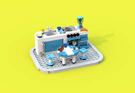 100 Lego Space Home LEGO IDEAS Product Ideas Kitchen Sweet Project