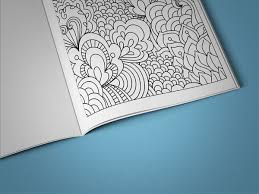 Coloring Book For Teens Page