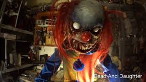 Motion Activated Halloween Decorations by Evil Clown Diy Horror And Halloween Props Youtube