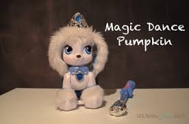 Palace Pets Pumpkin Soft Toy by Waltz Around The House With Disney Palace Pets Magic Dance Pumpkin