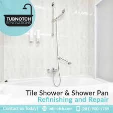 Bathtub Reglazing Houston Texas by Tile Shower U0026 Shower Pan Refinishing