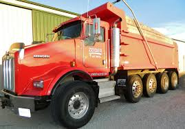 2007 Kenworth T800, Quad Axle Dump Truck, (2) Steerable Axles, Cat ...