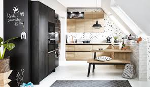 design einbauküche classica 1260 schwarzstahl 1270 alteiche