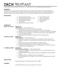 Resume Examples Highlights Of Qualifications 8 Latest Sample Resumes