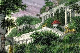 100 Images Of Hanging Gardens Of Babylon Were Actually 300 Miles Away In