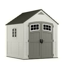 Keter Woodland Storage Shed 30 by Out Buildings Lowes Keter Woodland Leanto Storage Shed Common 4ft