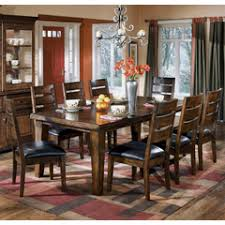 Larchmont Rectangular Extension Table Dining Room Set Ashley Collection