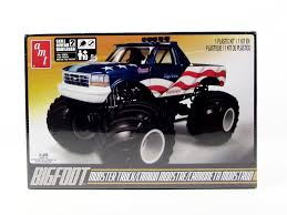 AMT 668 Bigfoot Ford Monster Truck 1/25 New Truck Model Kit ... Amazoncom Hot Wheels Monster Jam 124 Scale Dragon Vehicle Toys Lindberg Dodge Rammunition Truck 73015 Ebay Hsp Rc 110 Models Nitro Gas Power Off Road Trucks 4 For Sale In Other From Near Drury Large Rock Crawler Rc Car 12 Inches Long 4x4 Remote 9115 Xinlehong 112 Challenger Electric 2wd Round2 Amt632 125 Usa1 172802670698 Volcano S30 Scalextric Team Monster Truck Growler 132 Access