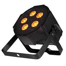 4 American DJ Mega QA GO Battery and AC Powered LED Par Lights
