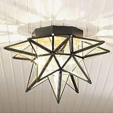 ceiling lights star light fixture pottery barn antique moravian