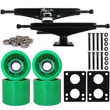LONGBOARD Trucks/Wheels/Bearings BLACK 7.0 + BIGFOOT 68MM BOARDWALK ... Uerstanding Longboards Trucks Core 60 Raw Longboard Wheels Package 70mm Sliding Top 10 Best In 2018 Reviews Buyers Guide Penny Nickel Board Avenue Suspension Trucks Shark Wheels Bones Mini Logo Ready To Roll Truck Sets Bearings Online Shop Puente 2pcs Set Skateboard With Skate Amazoncom Combo Paris Trucks Blue Wheels Bearings Drop Through Diy How To Assemble Your And The Arbor Axis Hablak Artist 40 Complete Black Paris 50 Degrees 165mm Savant Longboard Hopkin Discover European Wheel Brands Magazine Europe