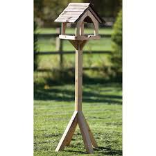 ergonomic bird feeder table 134 traditional wooden bird table