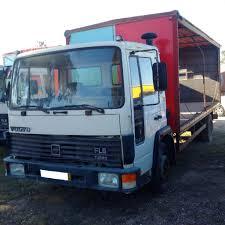 Left Hand Drive Volvo FL611 Turbo 11 Ton Truck. On Springs ...