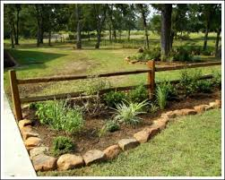 Full Size Of Garden Ideas Rustic Fence Design House