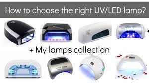 Sensationail Led Lamp Watts by Uv Vs Led Lamps For Gel Nail Polish Beginners And Pros My Nail