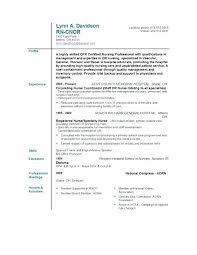 Resume Format For Nurses Nurse Samples Template Nursing Lecturer