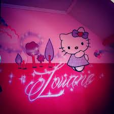 chambre fille hello graffiti deco graff décoration bébé baby graffeur déco taggeur