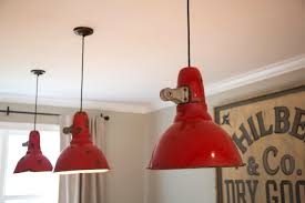 Coolie Lamp Shade Kit by Red Retro Pendant Light Metal Lamp Shades Coolie Lampshade Ceiling