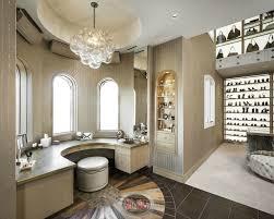 Bathroom Makeup Vanity Height by Curved Makeup Vanity Contemporary Closet Red Rock Contractors