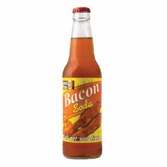 Lester´s Fixins Bacon Soda - 12 fl oz bottle
