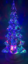 Ebay Christmas Trees With Lights by 10 Inch Light Up Acrylic Swirling Christmas Tree Ebay