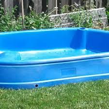 Large Hard Plastic Kiddie Pool With Slide
