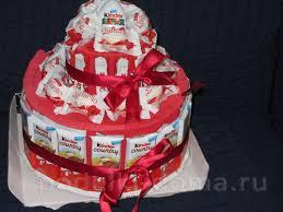 torte aus bonbons selber machen dekoking diy
