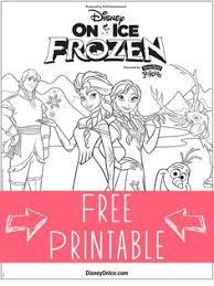 Disney Frozen Coloring Sheets
