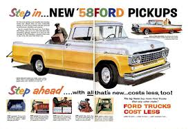 1958 Ford Truck Ad-02 | Ford Trucks | Pinterest | Ford Trucks, Ford ... 2014 Ford F150 Svt Raptor Monmouth Il Peoria Bloomington Decatur 2day Outlaw Country Pass Sept 28th 29th Tailgate N Tallboys Monroe Truck Equipment News Of New Car 1920 Restaurant In Pioneer Park Dodge 2016 Models 2019 20 Dear Steve Matthes Are You Mad Bro Motorelated Motocross Small Trucks For Sale Wheels O Time Museum Explores Early Manufacturing Midwest Wander Todays Tr Mastersqxd Stuff Il Best Image Of Vrimageco Pin By Ted Larson On Unusual Vehicles Pinterest Dump Trucks