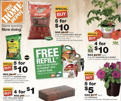 Home Depot – 5 $10 Mulch & Garden Soil $1 Annuals & More