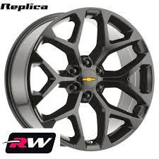 20 Inch Chevy Silverado 1500 Snowflake OE Replica Wheels 20x9