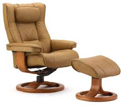 Fjords Regent Ergonomic Leather Recliner Chair + Ottoman ... Recling Armchair Vibrant Red Leather Recliner Chair Amazoncom Denise Austin Home Elan Tufted Bonded Decor Lovely Rocking Plus Rockers And Gliders Electric Real Lift Barcalounger Danbury Ii Tempting Cameo Dark Presidental Wing Power Recliners Chairs Sofa Living Room Swivel Manual Black Strless Mayfair Legcomfort Paloma Chocolate Southern Enterprises Cafe Brown With Bedrooms With